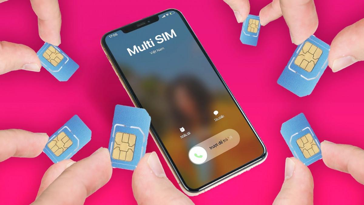 Viettel Multisim: 1 sim lắp 4 điện thoại - YouTube